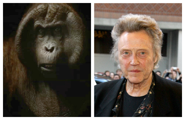Christopher Walken as Bagheera in Disney's The Jungle Book (2016).