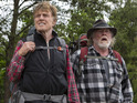 Robert Redford and Nick Nolte are old pals a ramblin'.