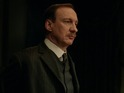 David Thewlis is on the case of a mysterious suicide in two exclusive clips.