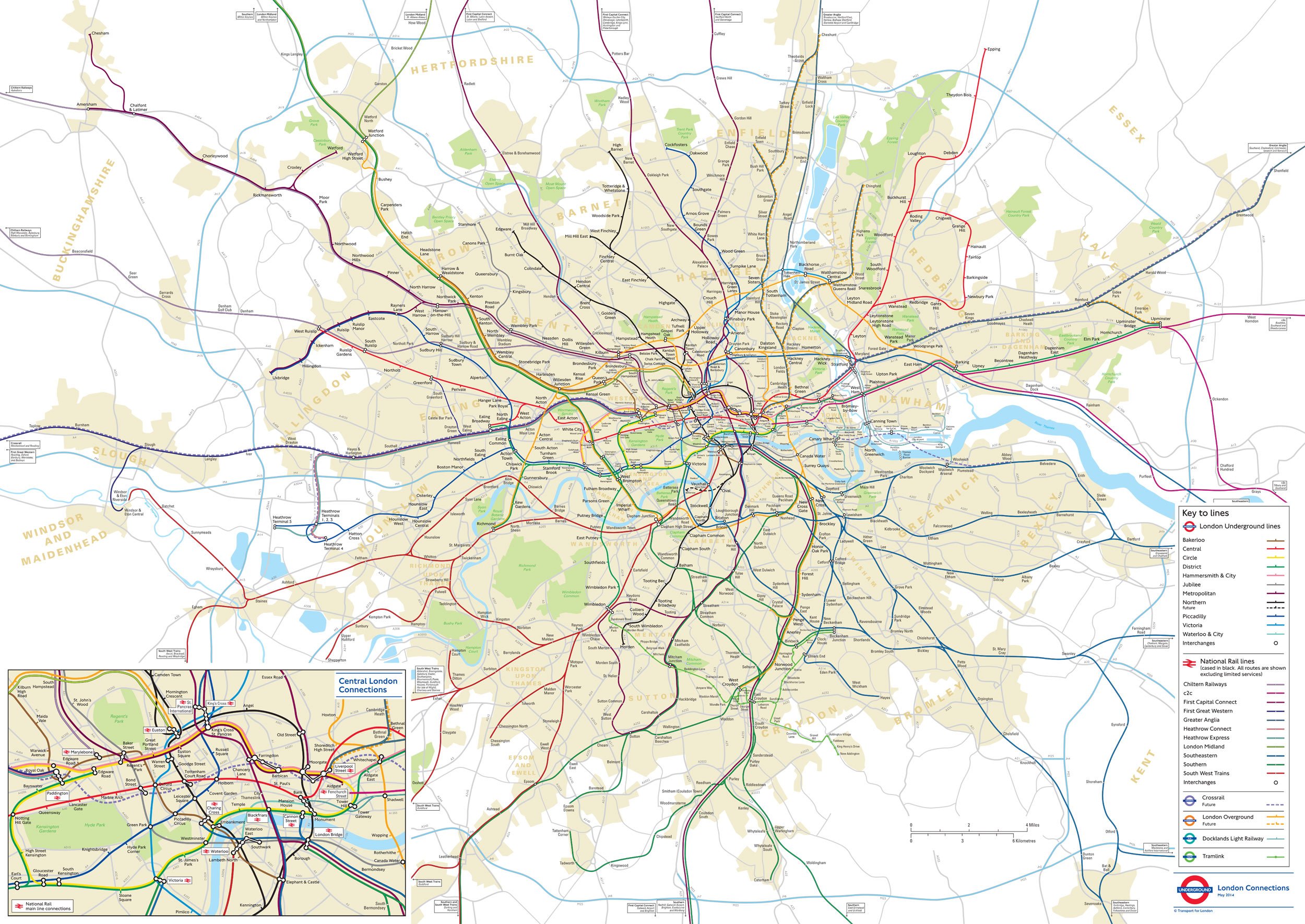 This distance accurate tube map might convince you to walk to work transport for londons distance accurate tube map gumiabroncs Image collections