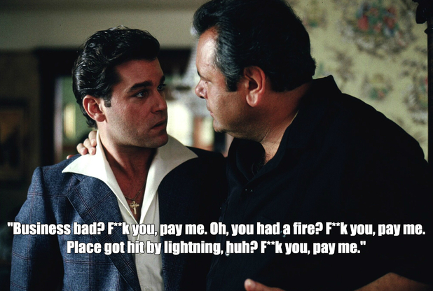 Three Six Mafia Quotes: 11 Killer Goodfellas Quotes For The Iconic Gangster Movie