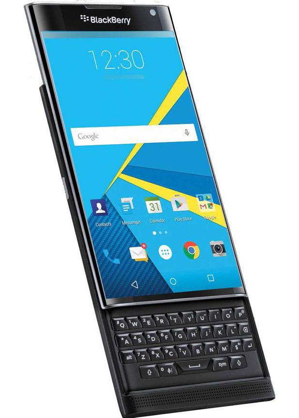 BlackBerry's Priv smartphone