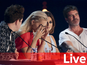 X Factor Six Chair Challenge liveblog banner