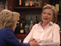 Hillary Clinton cameos in SNL sketch