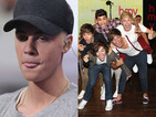 Justin Bieber says One Direction are releasing their album on the same day as him for publicity