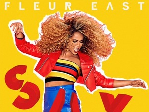 Fleur East 'Sax' single artwork.