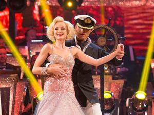 Helen George and Aljaz Skorjanec on Strictly Come Dancing week 3
