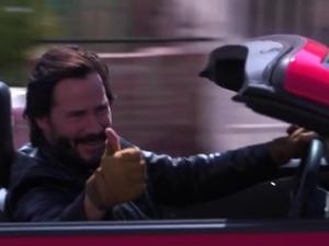 Keanu Reeves in A Reasonable Speed