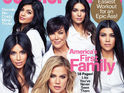 Family adorn the cover of Cosmopolitan's November 2015 issue.