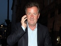 Piers Morgan  on May 18, 2015 in London, England