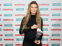 Charley Webb at the Inside Soap Awards
