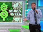 James Corden takes over as The Price Is Right's male model... and it does not go smoothly