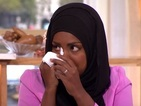 See Bake Off winner Nadiya Hussain get teary as she's reunited with her old cookery teacher