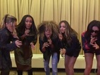 Little Mix get funked up with Fleur East to tease her new single 'Sax'