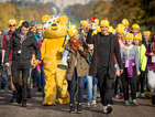 Strictly Come Dancing's Anita Rani and Gleb Savchenko lead BBC Children in Need ramble