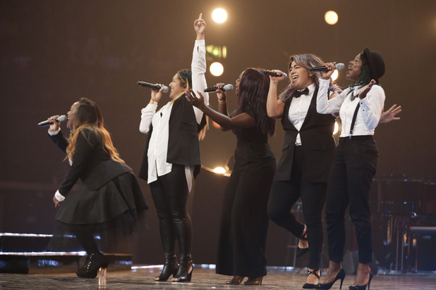 Silver Tone at the X Factor Six Chair Challenge