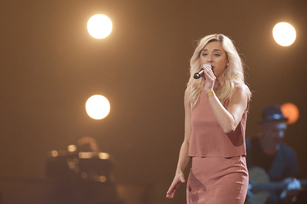 Ebru at the X Factor Six Chair Challenge